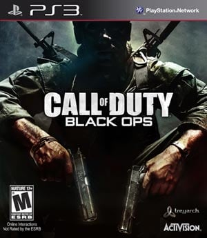 ActiVision's Call of Duty Black Ops retails for $59.99 and is available in 3-D for both PS3 and Xbox 360. (Source: ActiVision)