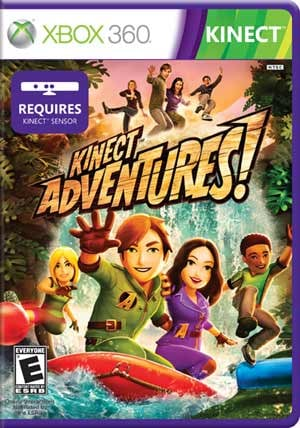 Kinect Adventures for Microsoft's Kinect on the Xbox 360.(Source: Microsoft)