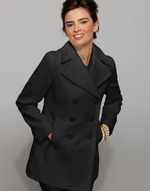 Kenneth Cole Reaction pea coat (Source: Macy's)