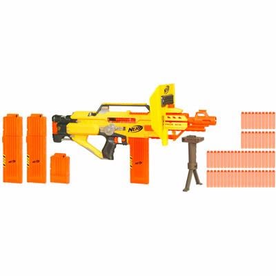 The Nerf N-Strike Stampede blasts 18 soft darts in a matter of seconds. (Source: Hasbro)