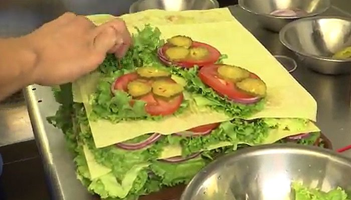 At least 58 people in the U.S. and Canadahave fallen sick to E. coli outbreak linked to the salad ingredient, according to the CDC. (Source: KCOY/KEYT/CNN)