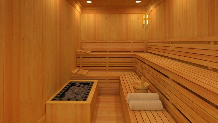The two women were trapped in the sauna for about 90 minutes. (Source: toddtantis/Wikimedia Commons)