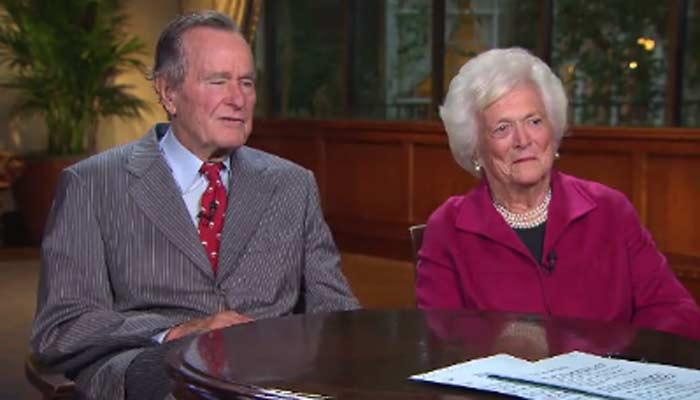 President George H.W. Bush has been hospitalized. (Source: CNN)