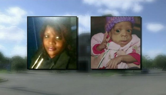 The 8-month-old girl later died at the hospital. (Source: WDIV/CNN)