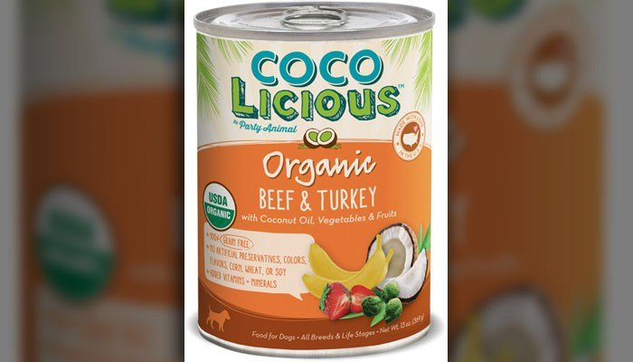This is one of the kinds of dog food that Party Animals Inc. has recalled. (Source: Party Animals Inc.)