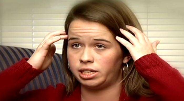 Blair Rowand explains headaches. (Source: NBC)