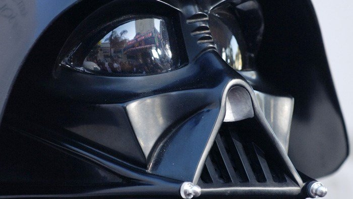 A mix-up involving a student in a Darth Vader costume caused a school evacuation in Green Bay, WI, on Thursday. (Source: AP Photo/Chris Pizzello)