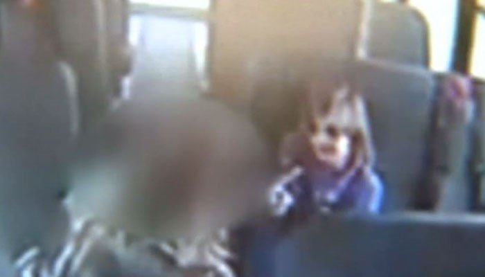Father heartbroken by video of bus aide slapping daughter, 6