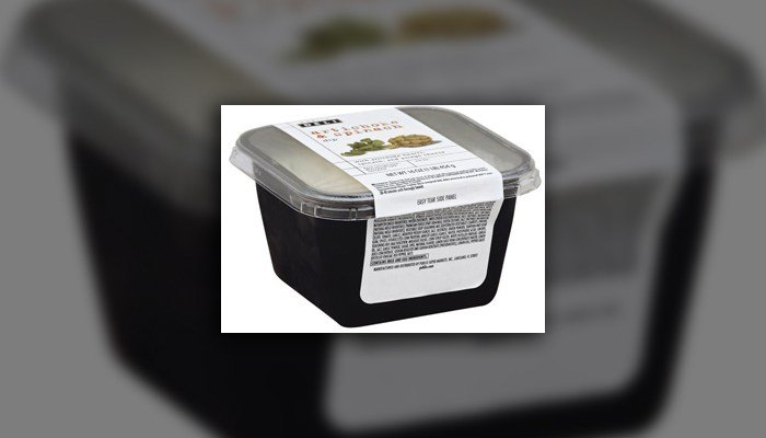 The dip was sold at Publix stores in Florida, Georgia, South Carolina, North Carolina, Alabama and Tennessee in the refrigerated cases in the deli. (Source: Publix)