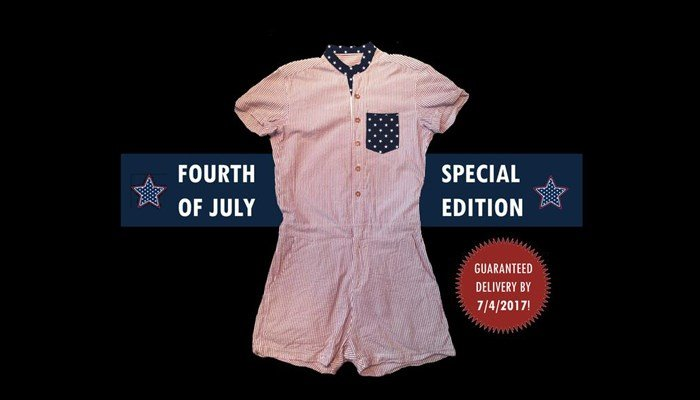 The special Fourth of July edition is for sale on the Kickstarter site. (Source: Kickstarter/ACED Design)