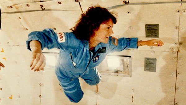 Christa McAuliffe was chosen to be the first teacher in space. (Source: NASA)