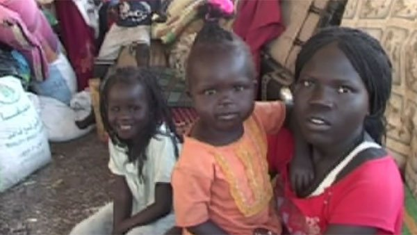 (Source: CNN) Residents of what will soon become South Sudan.