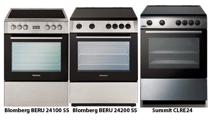 A company that sells Blomberg and Summit brand electric ranges is recalling thousands of them. (Source: USCPSC)