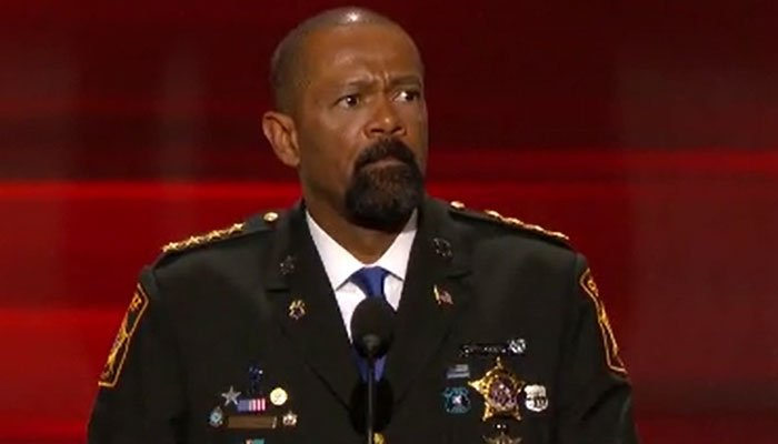 A Wisconsin sheriff David Clarke appears to have plagiarized parts of his master's thesis CNN reports