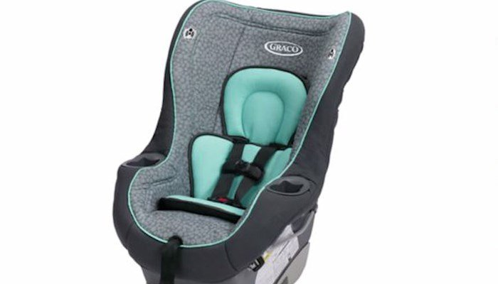 The seat webbing may tear, not adequately restraining the child in a crash, according to testing by the Naitonal Highway Transportation Safety Administration. (Source: Graco/CNN)
