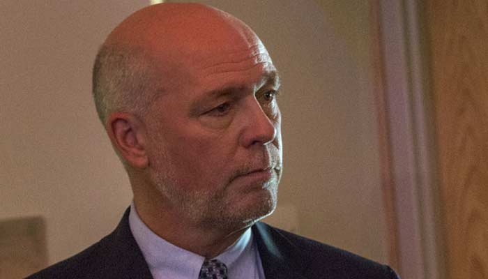 Gianforte is running for the seat vacant when Ryan Zinke became head of the Department of the Interior. (Source: AP/Bobby Caina Calvan)