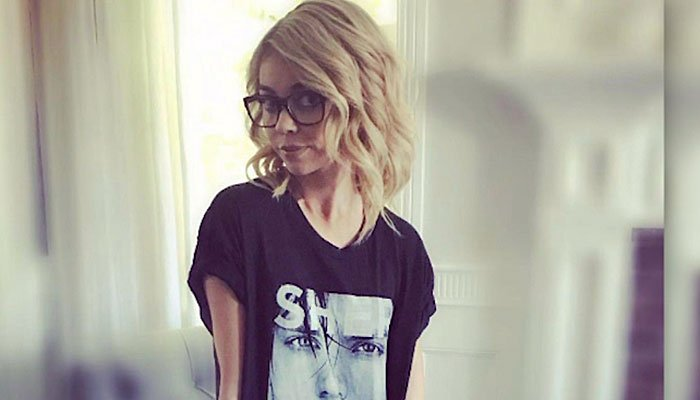 Actress Sarah Hyland says her thinness is not caused by her being anorexic. (Source: Pool/CNN)