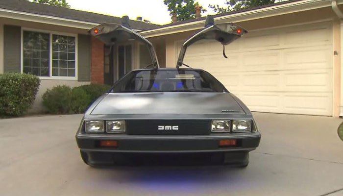 Police ticket DeLorean for driving 88 miles per hour