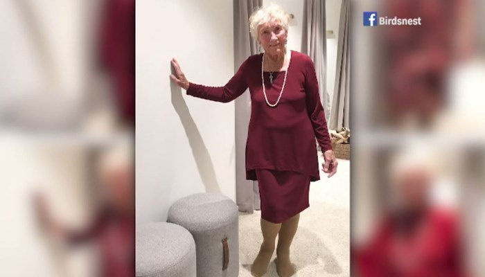 93-year-old great grandma turns to internet to pick wedding dress