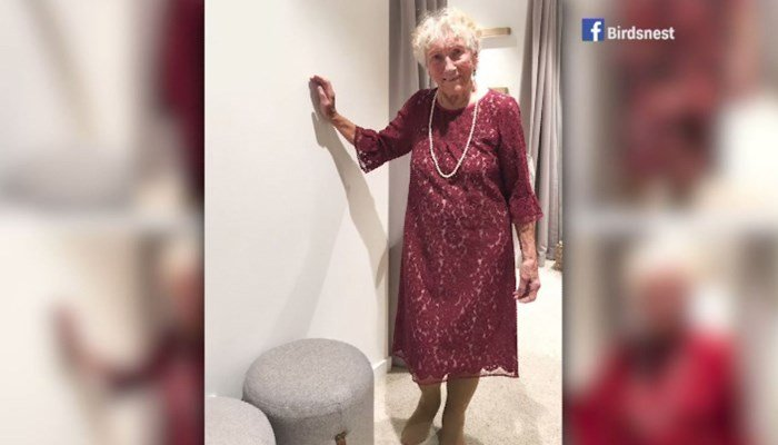 This 93-year old bride wants you to pick her wedding dress