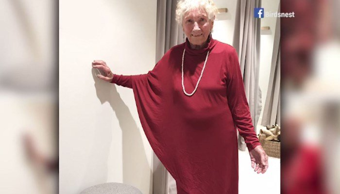 Facebook helps 93-year-old bride choosing her wedding dress