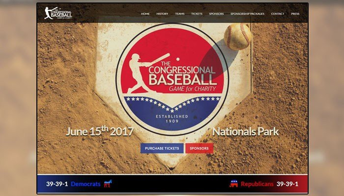 This year, the event raised more than $600,000 for charity. (Source: Congressional Baseball Game)