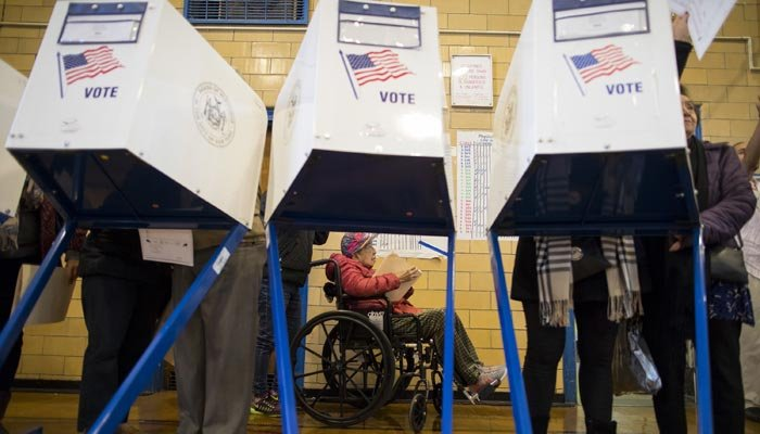 The voter data was on an unsecured Amazon Drive account, and included 1.1 terabytes of personal voter information. (Source: AP Photo/Alexander F. Yuan)