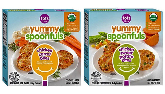 Some packages of Yummy Spoonfuls, toddler food, are being recalled nationwide because of bones. (Source: USDA)
