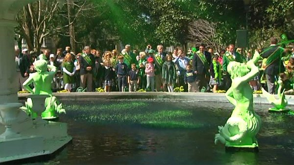 St. Patrick's Day has a huge following in Savannah, GA. (Source: WTOC)