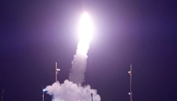 U.S. missile defense system successfully intercepts target during test