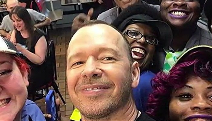 Donnie Wahlberg left a $2,000 tip on an $80 check at a Waffle House. (Source: Facebook/CNN)