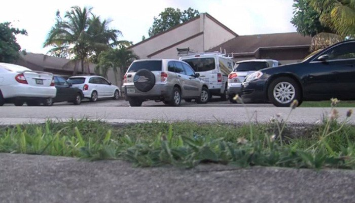 A child was discovered inside a hot car after playing with friends. (Source: WPTV via CNN)