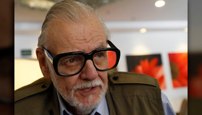 Director George Romero died in his sleep following a battle with lung cancer, his manager said. (Source: AP Photo/Marco Ugarte)