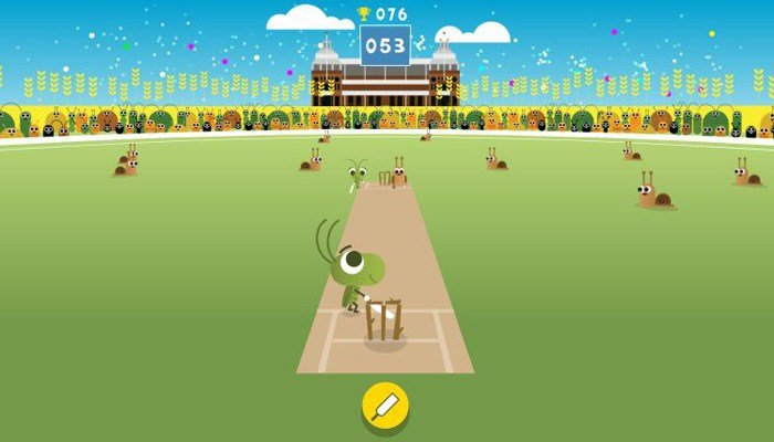 Cricket played by crickets you can control. (Source: Google.com)