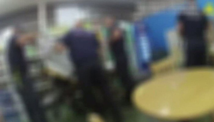 Police bodycam video from June 4 shows police talking to witnesses after the newborn baby was found inside a backpack left in a grocery cart. (Source: KXNV/CNN)