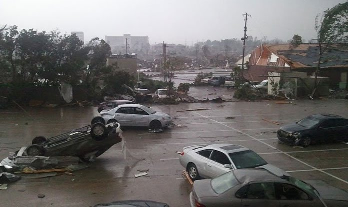 A view from the Nichol's front door. (Source: Taylor Nichols)