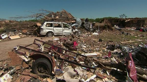 An EF-5 tornado decimated the tiny town of Smithville, MS. (Source: CNN)