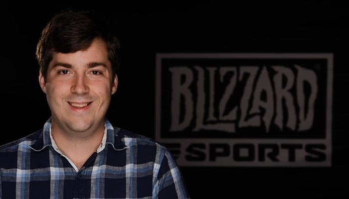 Adam Rosen is Blizzard Entertainment's esports manager and co-founder of Tespa. (Source: Blizzard Entertainment)