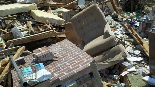 Cleanup is in progress after storms swept through the South. (Source: WBRC)