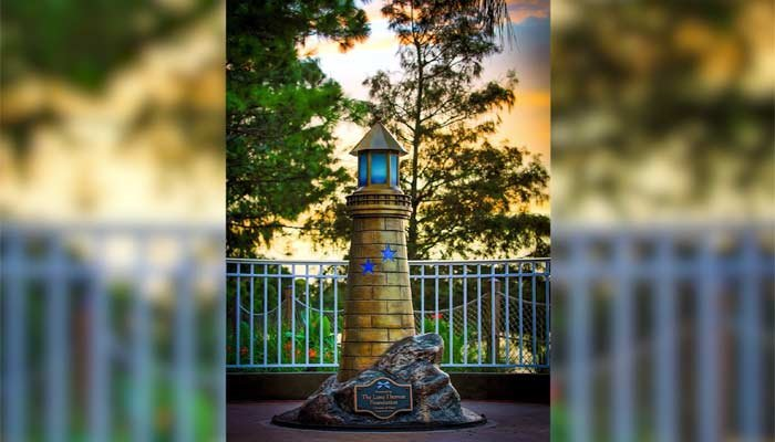 Disney World installs lighthouse honoring Lane Graves