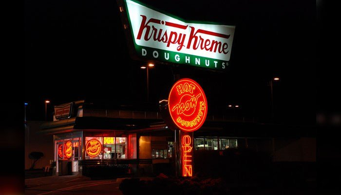 Krispy Kreme glazed goes chocolate for eclipse