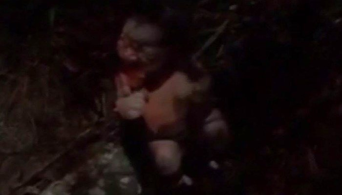 Deputies said the child was less than an hour old, and her umbilical cord was still attached. (Source: John Baldwin/KPRC/CNN)