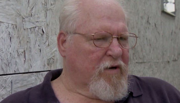 Mark Heyer, the father of the woman killed in Charlottesville, paused while packing his car to travel to Virginia from his home in Florida. (CNN)