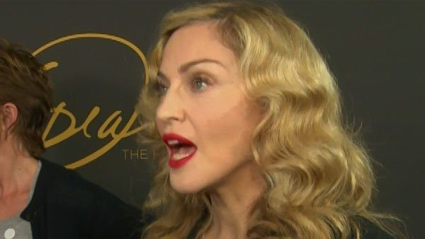 "Madonna was a guest of Oprah's ""Farewell Spectacular"" show. (Source: CNN)"