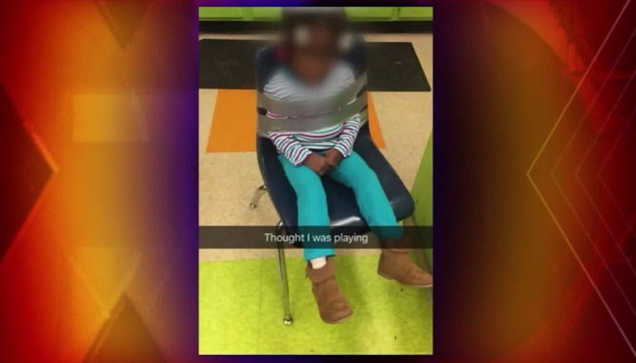 Parents Outraged After 4-Year-Old Duct-Taped to Chair at Daycare