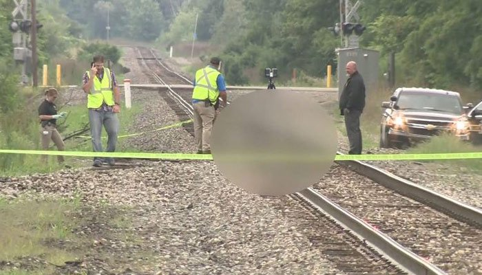 Body of teen suspected of killing grandmother found on Holly traintracks