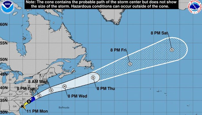 Lehigh Valley will see rain from 'Potential Tropical Cyclone Ten'
