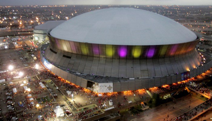 LSU-BYU will play on Saturday in New Orleans at the Mercedes-Benz Superdome. (Source: AP/Robb Carr)