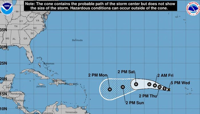 Potential tropical cyclone #10 could impact NC coast