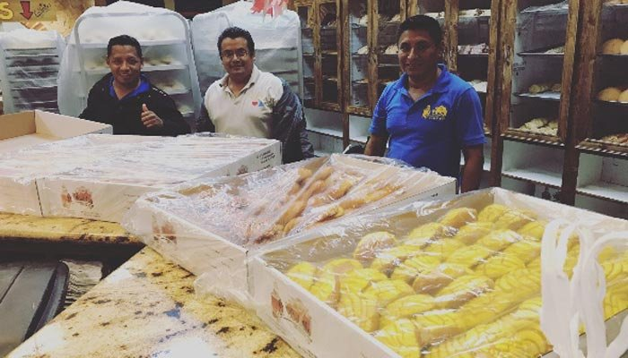 For 48 hours, the trapped employs made bread to share with those in need. (Source: El Bolillo Bakery/Facebook)